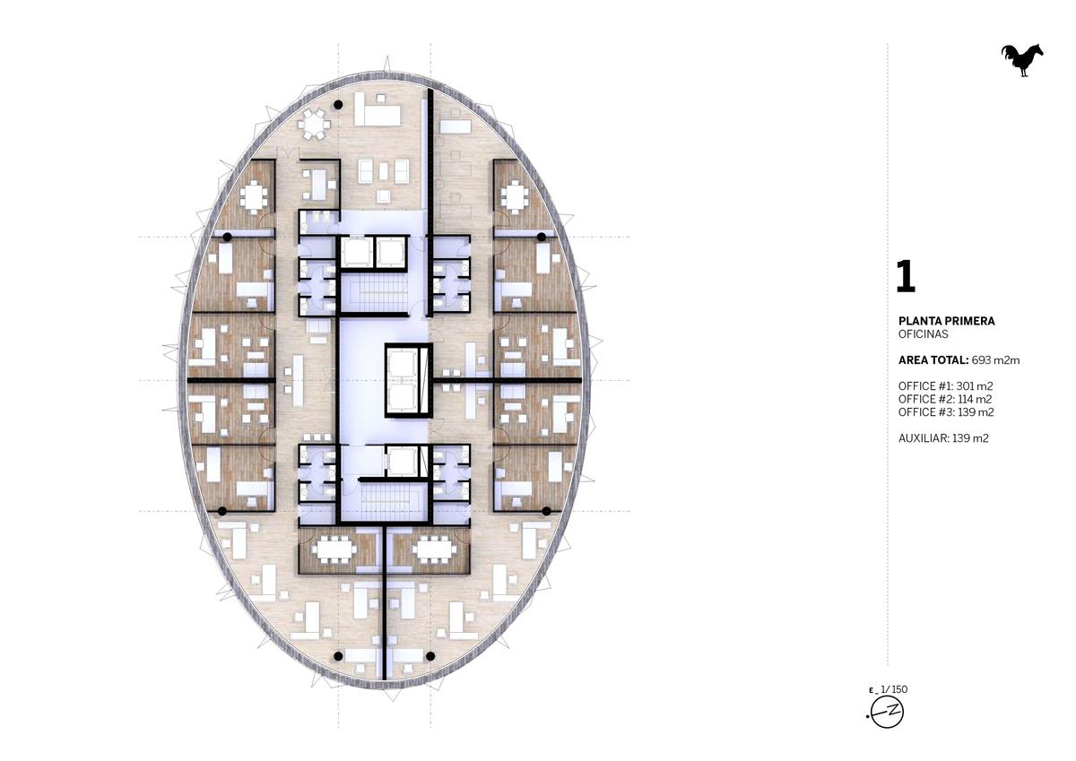 Nueve Grados First Floor
