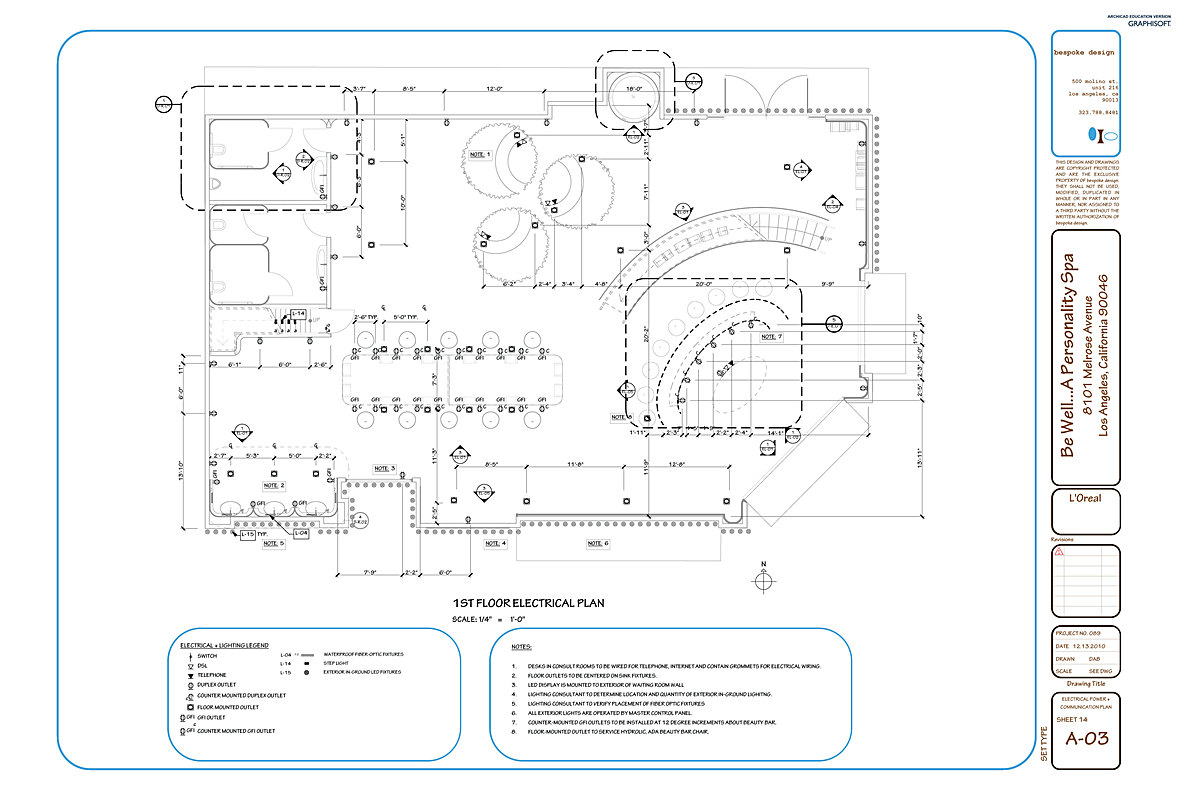 be well construction documents  darra bishop  archinect, wiring diagram
