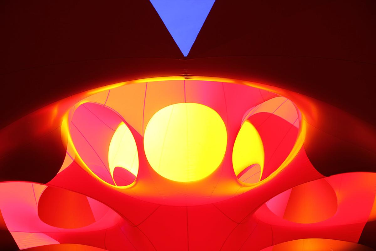 Interior of Exxopolis, image credit: Kaori Walter.