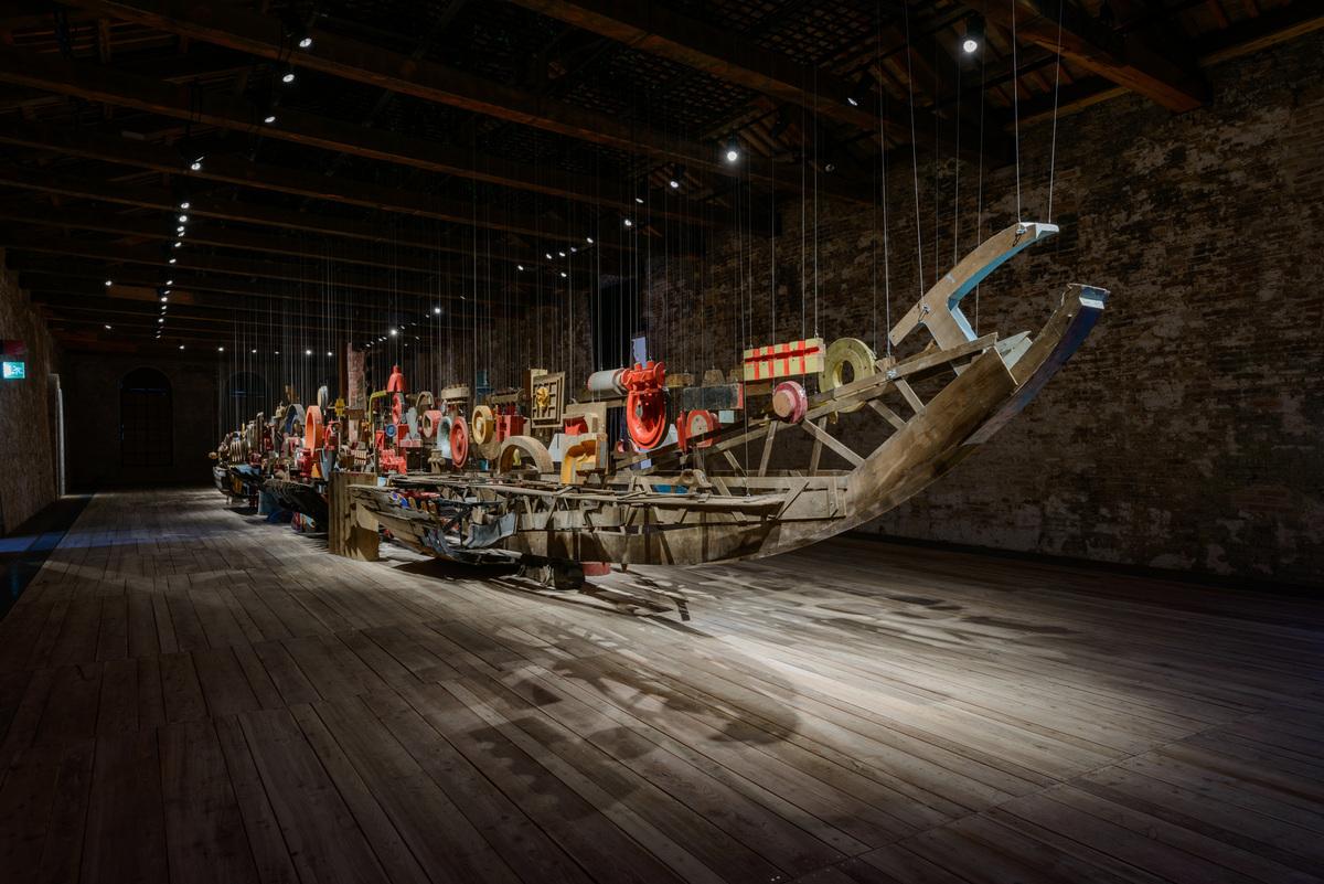 Turkeys Darzanà: Two Arsenals, One Vessel, photo by Andrea Avezzù, courtesy La Biennale di Venezia