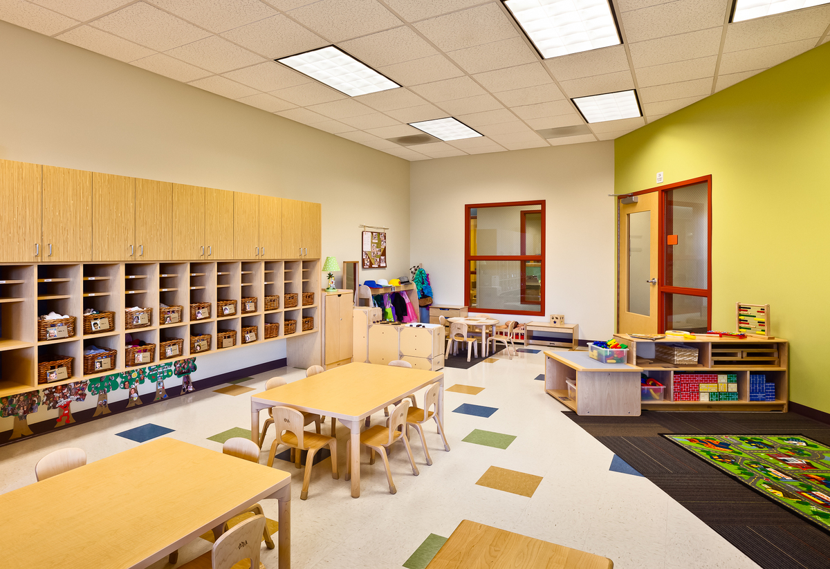 Modern Classroom Facilities ~ Ucla childcare center josh blumer archinect