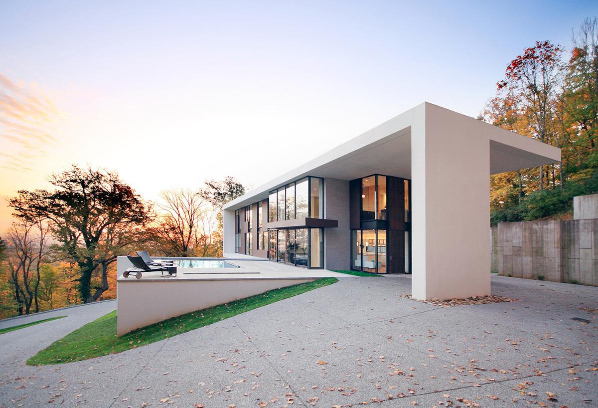Nashville Residence, Nashville, TN, Architect: Kanner Architects © Nico Marques/Photekt