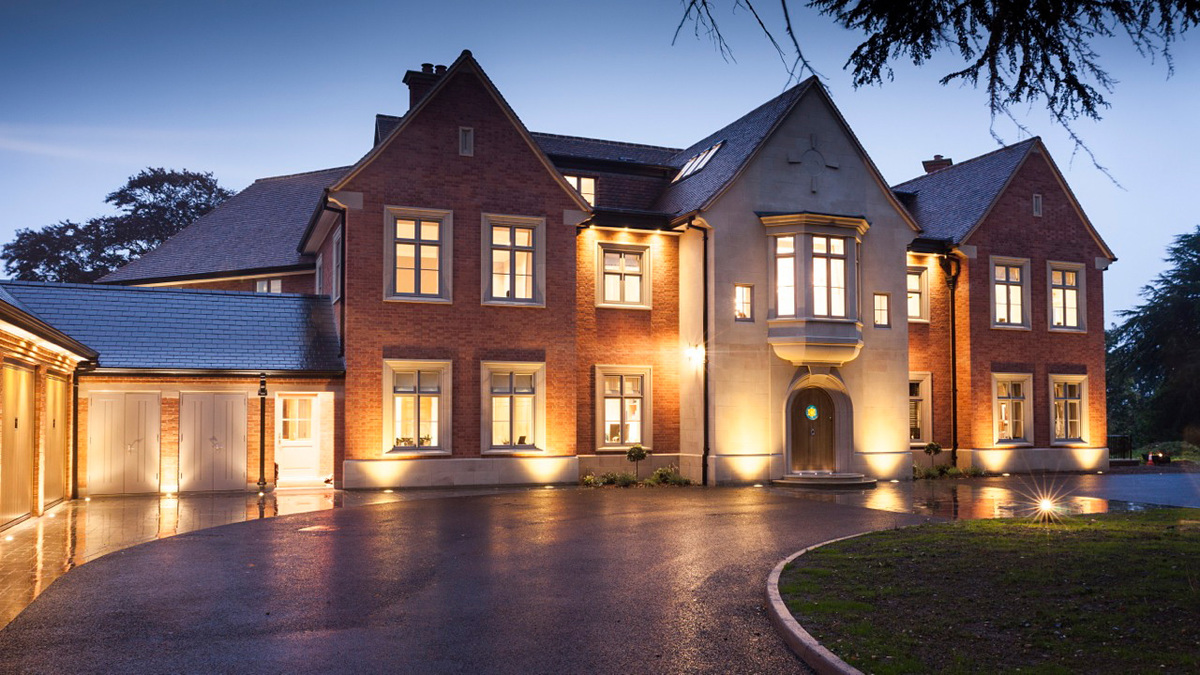 Batts Hall in Warwickshire, United Kingdom by Janes Architectural & Adam Architecture