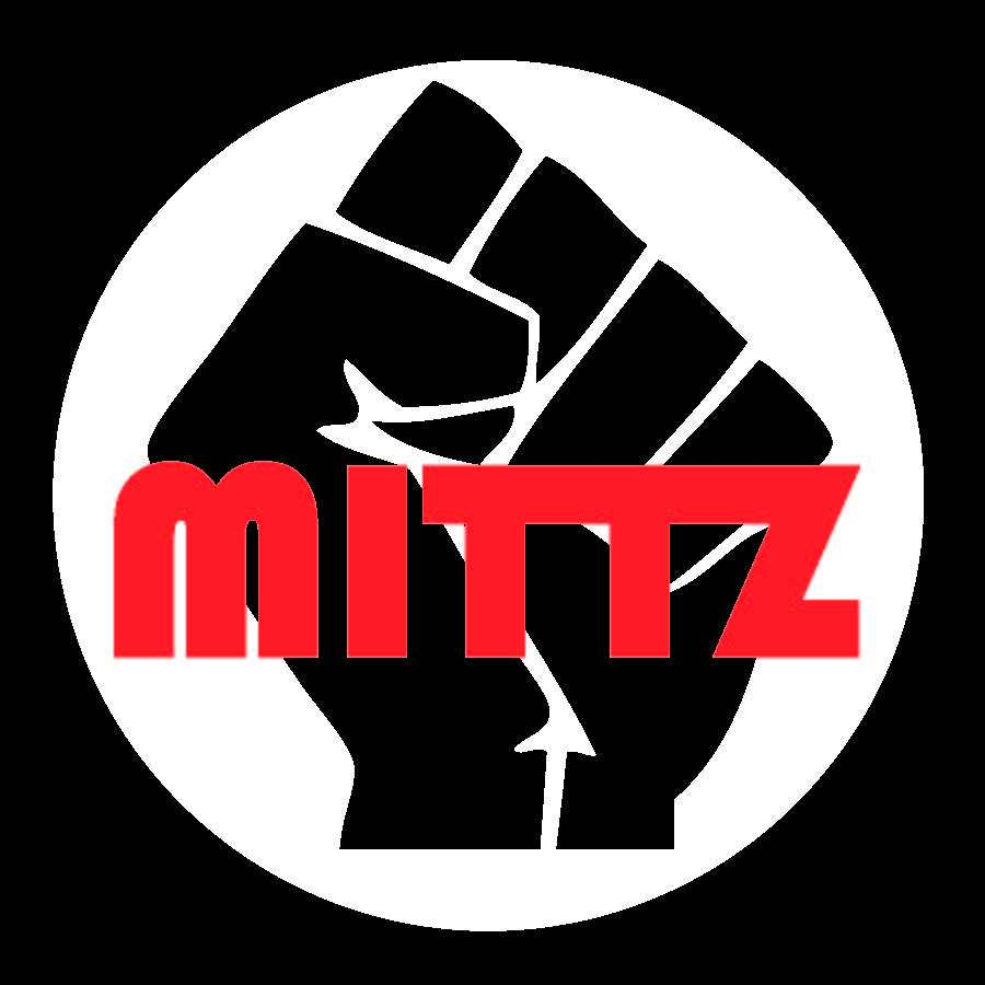 Logo for tattoo artist, Dougie Mittz