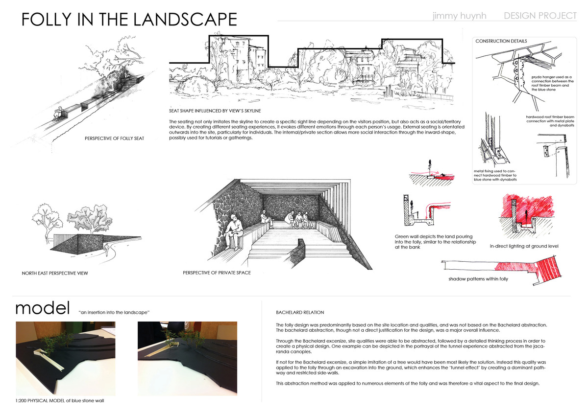 University of queensland design course semester 1 2011 for Landscape design courses brisbane