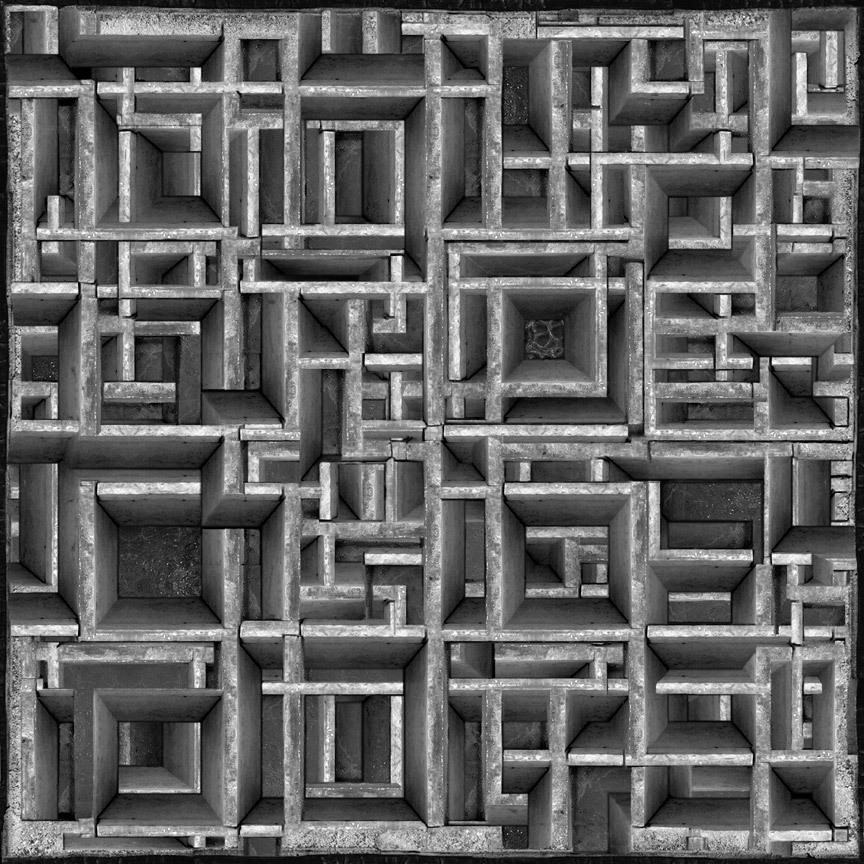 untitled (maze), 2008 © Jim Kazanjian