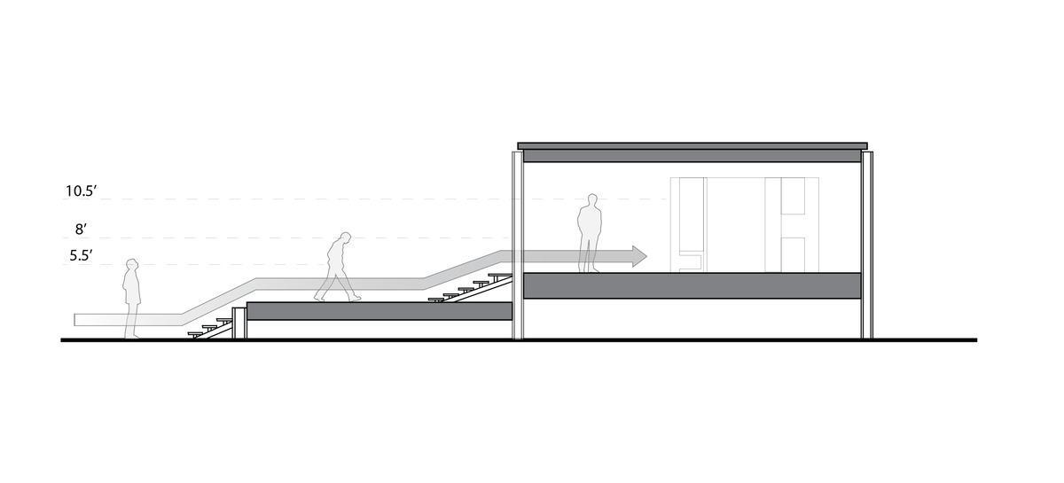 Minimalist house construction - Case Study Farnsworth House Mark Hartenstein Archinect