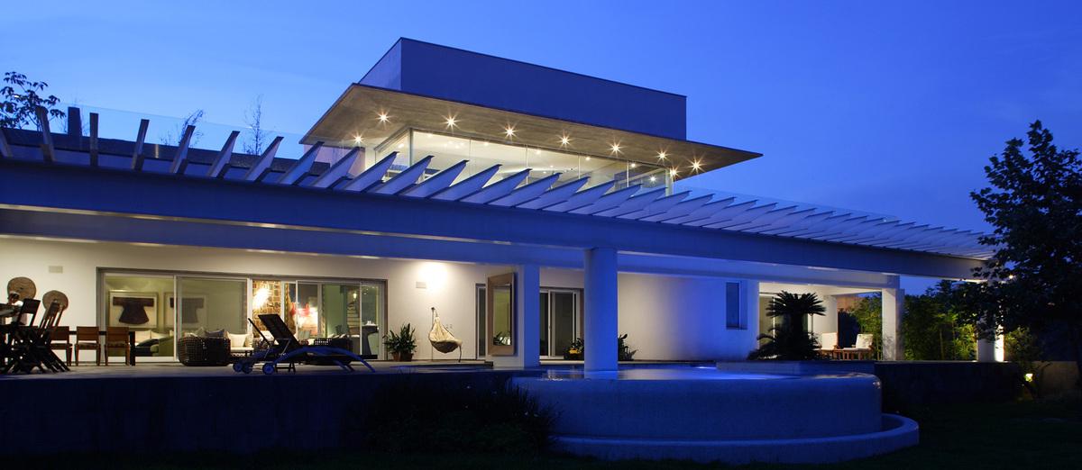 Casa temazate p rtico arquitectura construcci n for Portico moderno