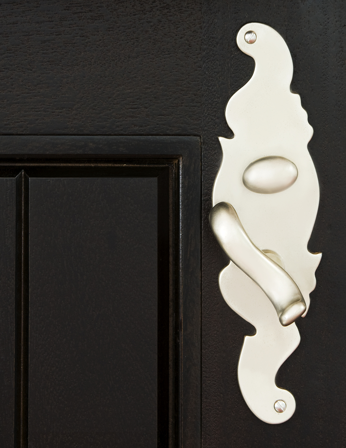 Door Detail, Cape Dutch House, Photo by Ariela Grossman