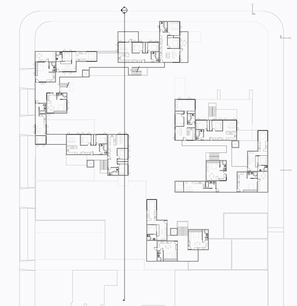 Floor Plan Level 3, (Typ. for 5 & 7)