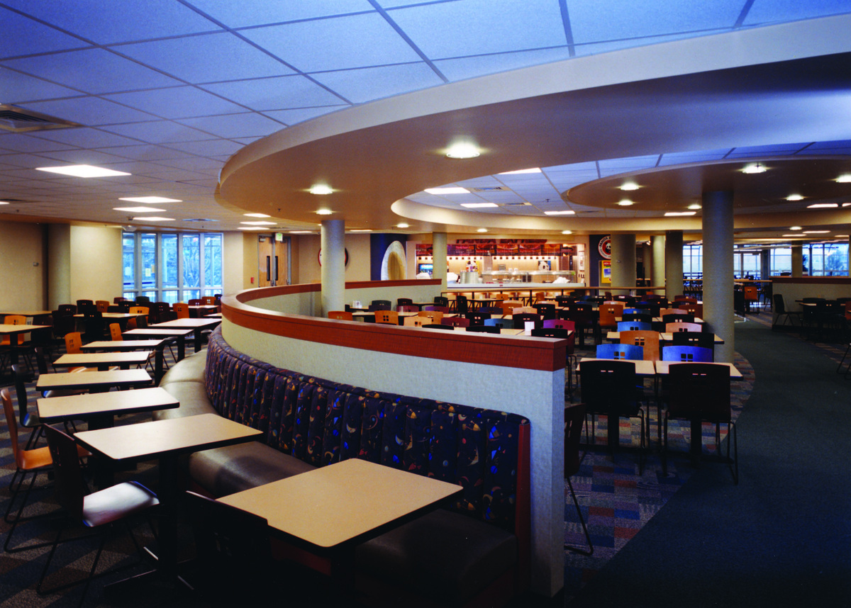 Top Architecture Firms In The Us Colorado State University Lory Student Center Food Court