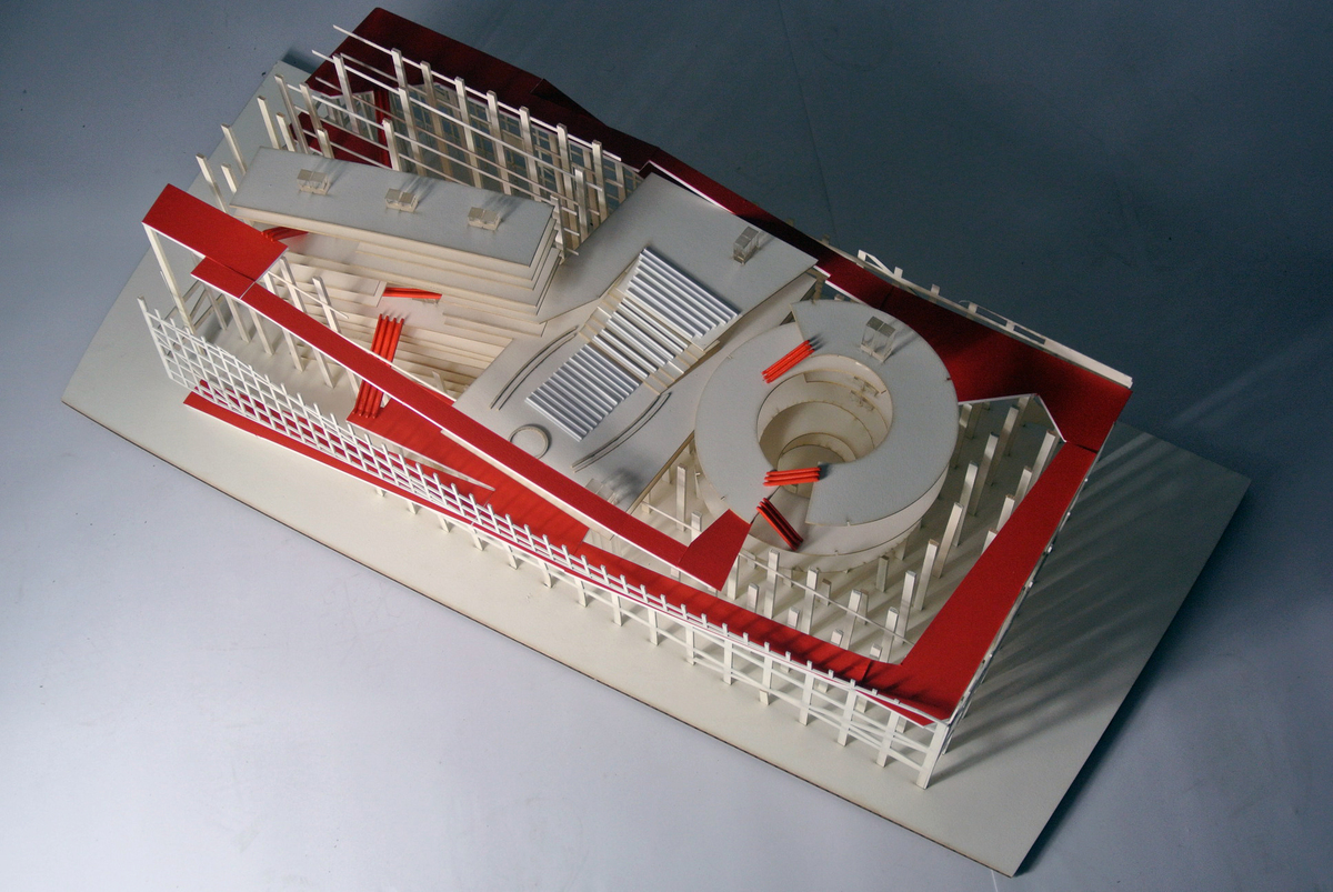 Proposed Renovation to the United Nations Headquarters – RISD Thesis Project Models. Image courtesy of Jim Bogle.