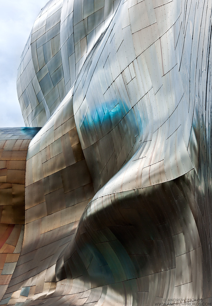 EMP Museum, Seattle. Architect: Gehry Partners LLP © Andrew Prokos