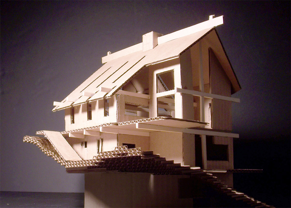 Mountain house jeremy fass archinect - Mountain house projects ...