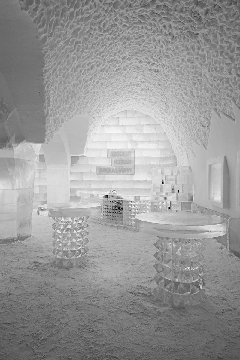 Icehotel by Ake Larsson, Jukkasjarvi, Sweden, 2010