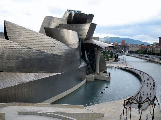 Guggenheim Museum, Bilbao, Spain. Image courtesy of GlobeRove.com