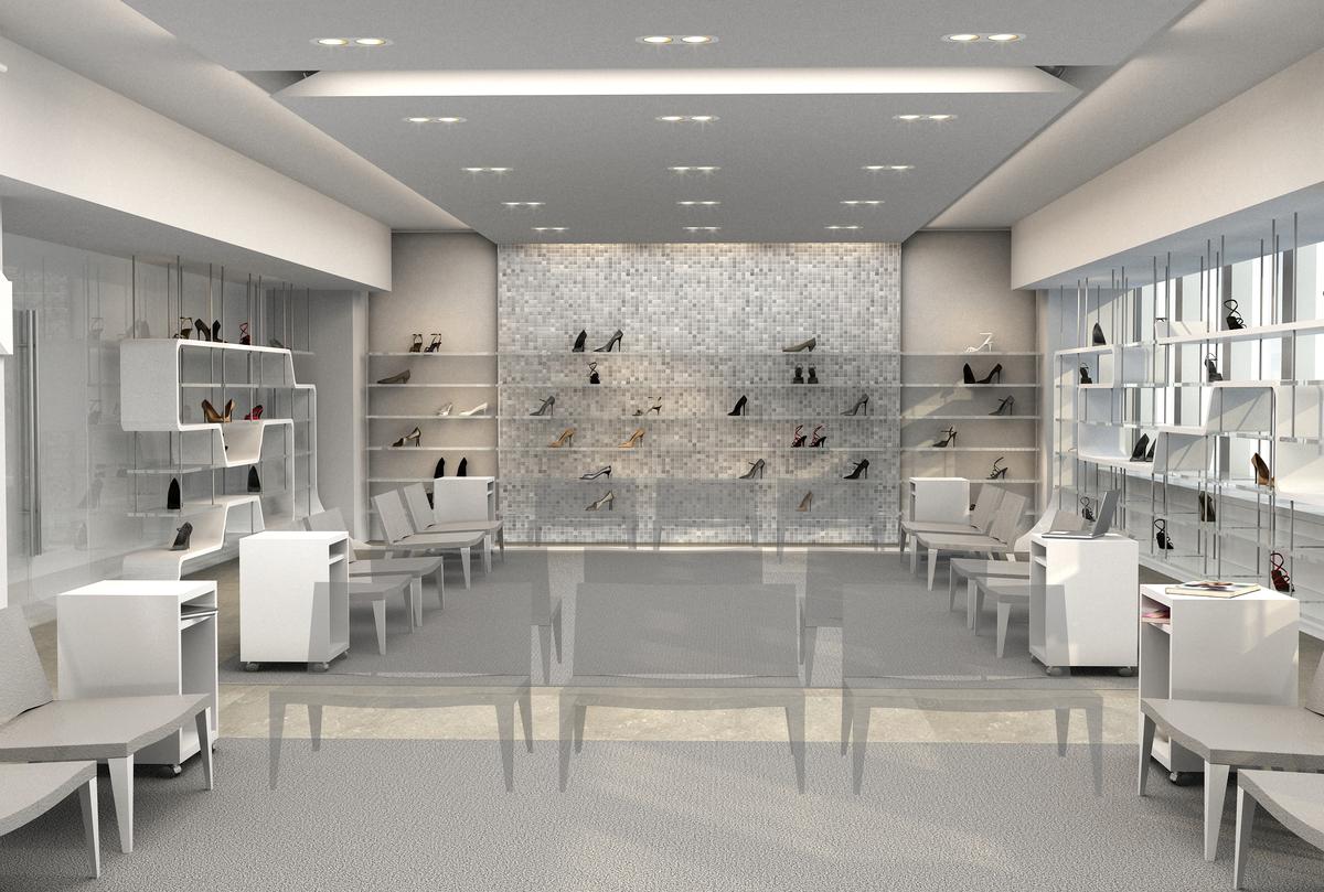 Shoes Showroom Design