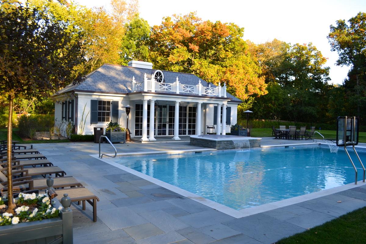Pool House Facade