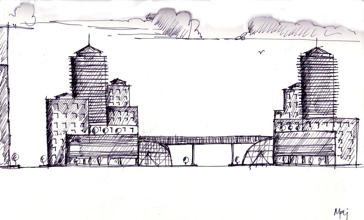 Side sketch
