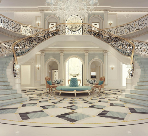 Exploring Luxurious Homes Grand Lobby Interior Design