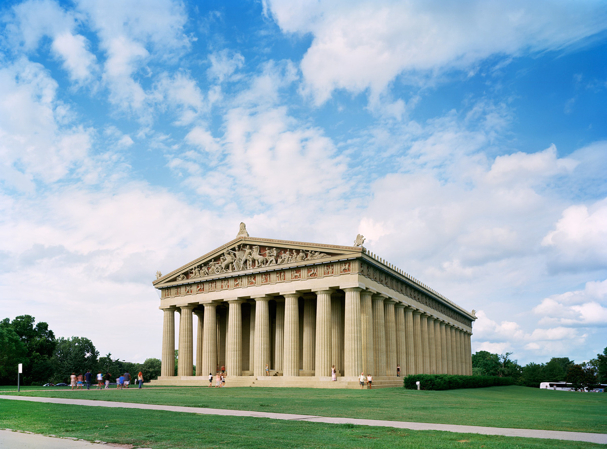 "Tennessee 1897 World's Fair, ""Tennessee Centennial and International Exposition,"" Parthenon, View from Southwest, 2013 © JADE DOSKOW"