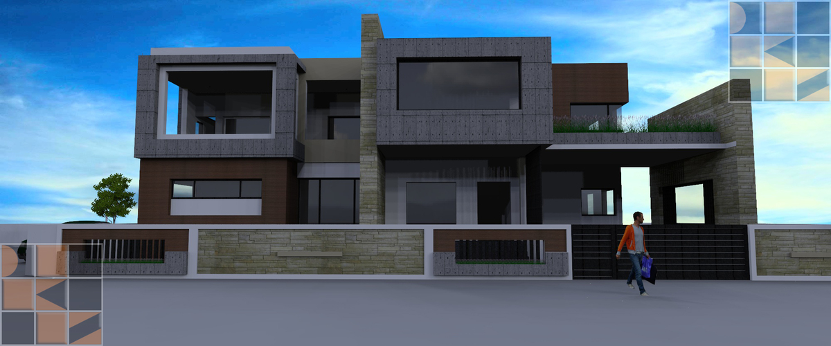 Residential architectural design and development for mr for Architecture design companies in coimbatore