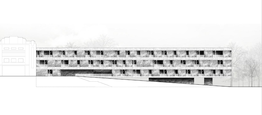 Collective Housing Building Filipe Cardoso Archinect