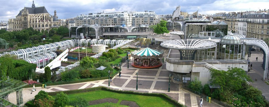 Les Halles shopping mall, Paris
