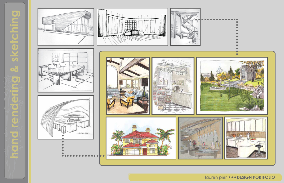 ... Interior Designer Portfolio Layout The For Interior Design Portfolio ...