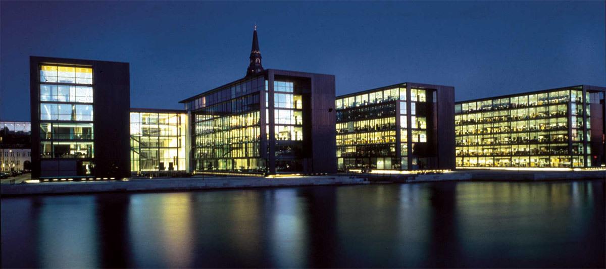Nordea Bank Headquarters, 2000 (Image: Henning Larsen Architects)