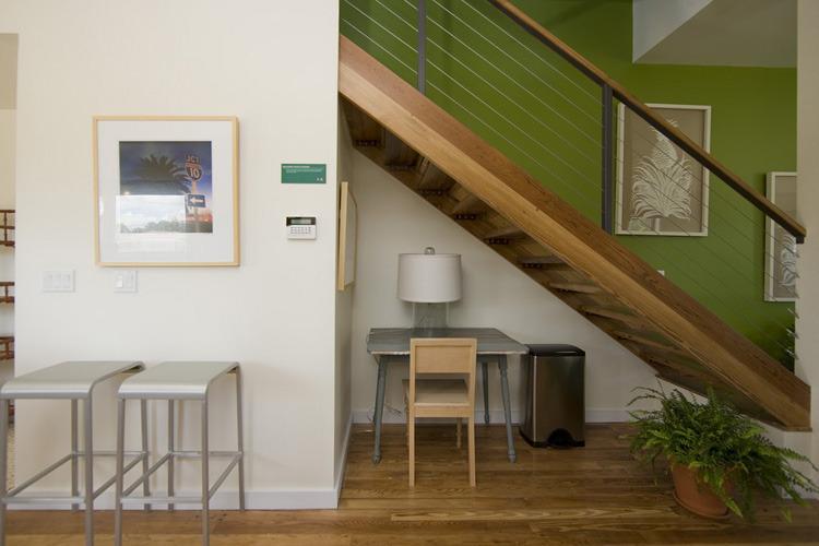 GreeN.O.LA Stair. Photo: Max Kim-Bee