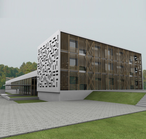 Small hotel project architecture engineering for Top architectural engineering firms