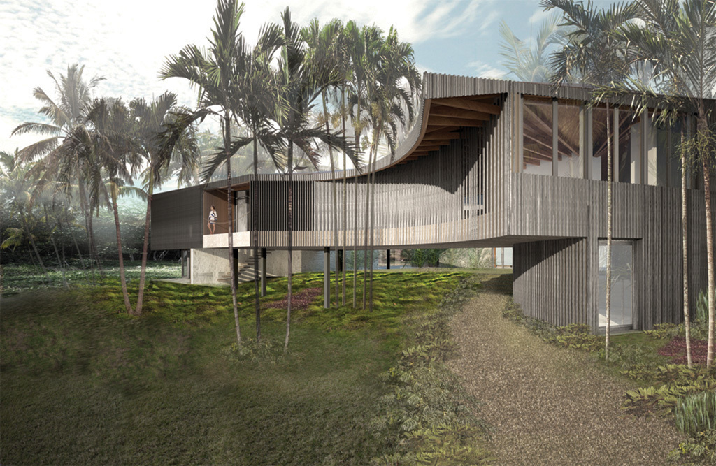 Playa Grande Main House, Dominican Republic; Young Projects