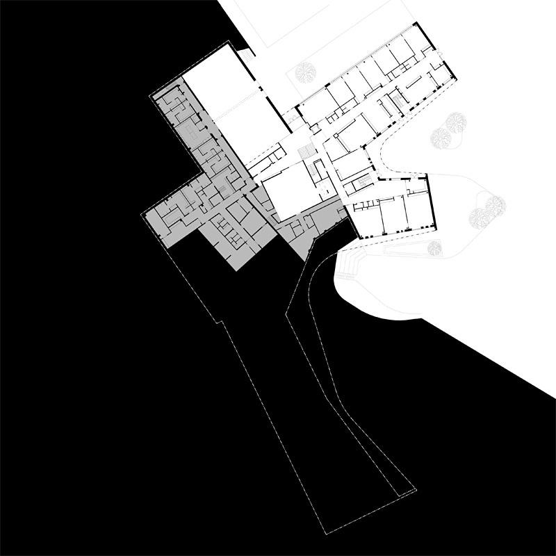 Plan ground floor (Image courtesy of Verstas Architects)