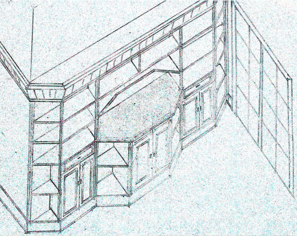 Preliminary design. Free hand sketch