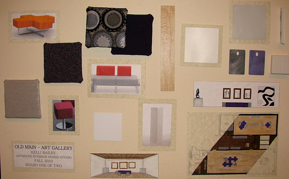 Art Gallery Presentation Board