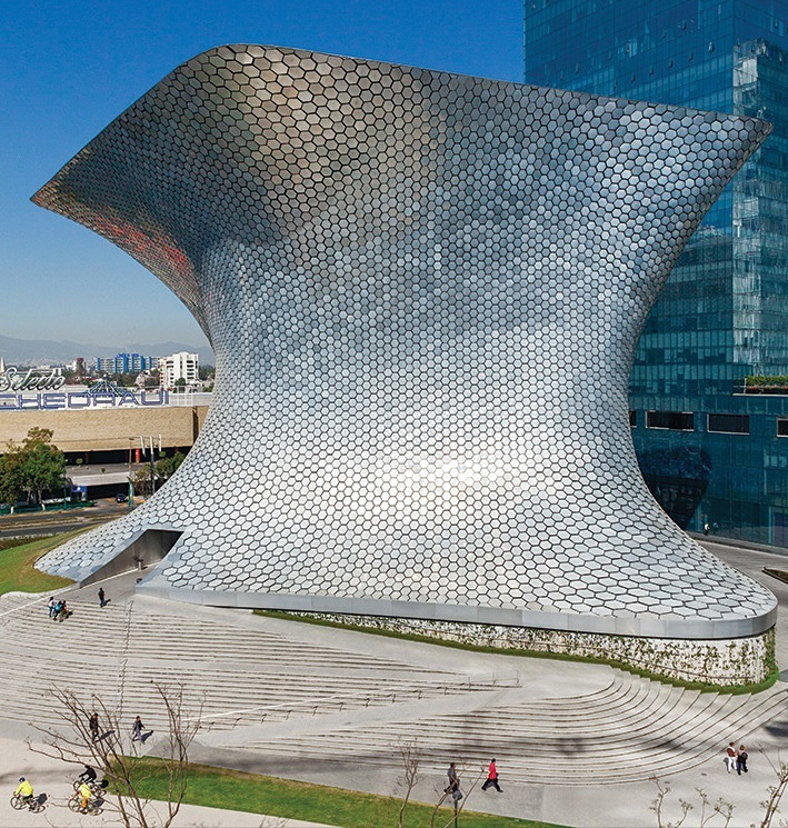 Soumaya Museum in Mexico City by FR-EE / Fernando Romero Enterprise