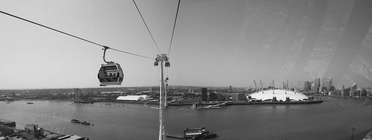 Shortlisted: The Emirates Air Line cable car, London, UK; Photo: Luke Hayes