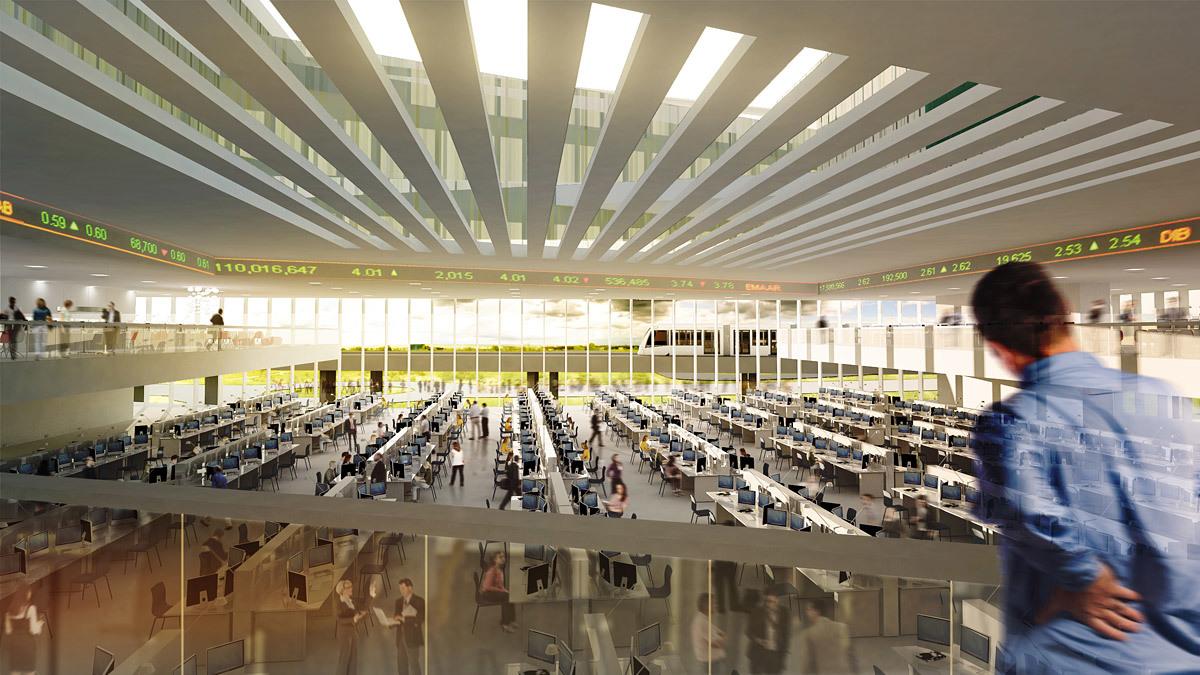 Trading floor (Image: Henning Larsen Architects)
