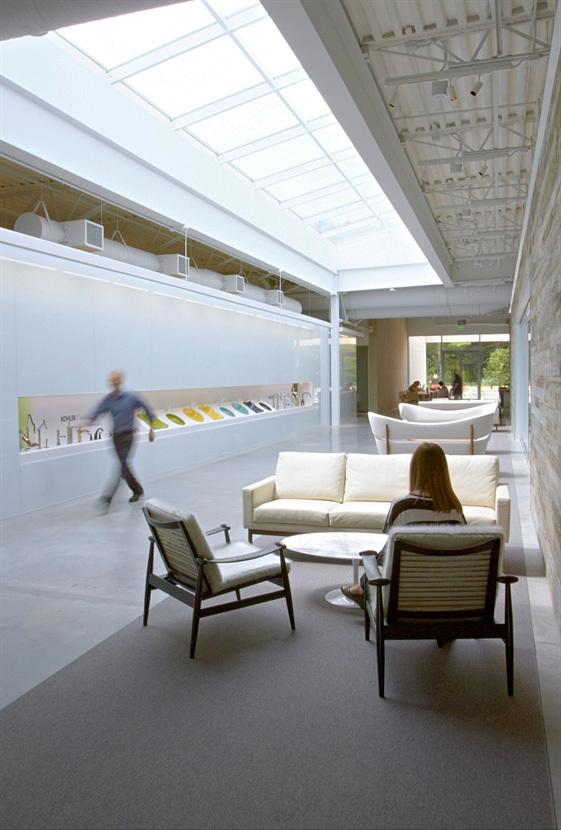 Interior Architecture Honor Award: Kohler Creative in Kohler, Wisconsin by Gensler. Photo: Photography by Kohler.