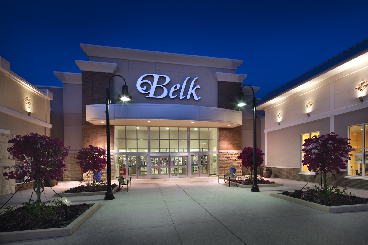 Top Architecture Firms In The Us Belk The Pavilion At Port Orange Sustainable Store