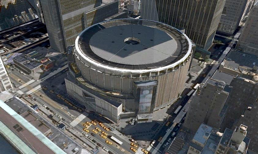 Urban planners propose moving madison square garden to nearby post office news archinect for Madison square garden employment