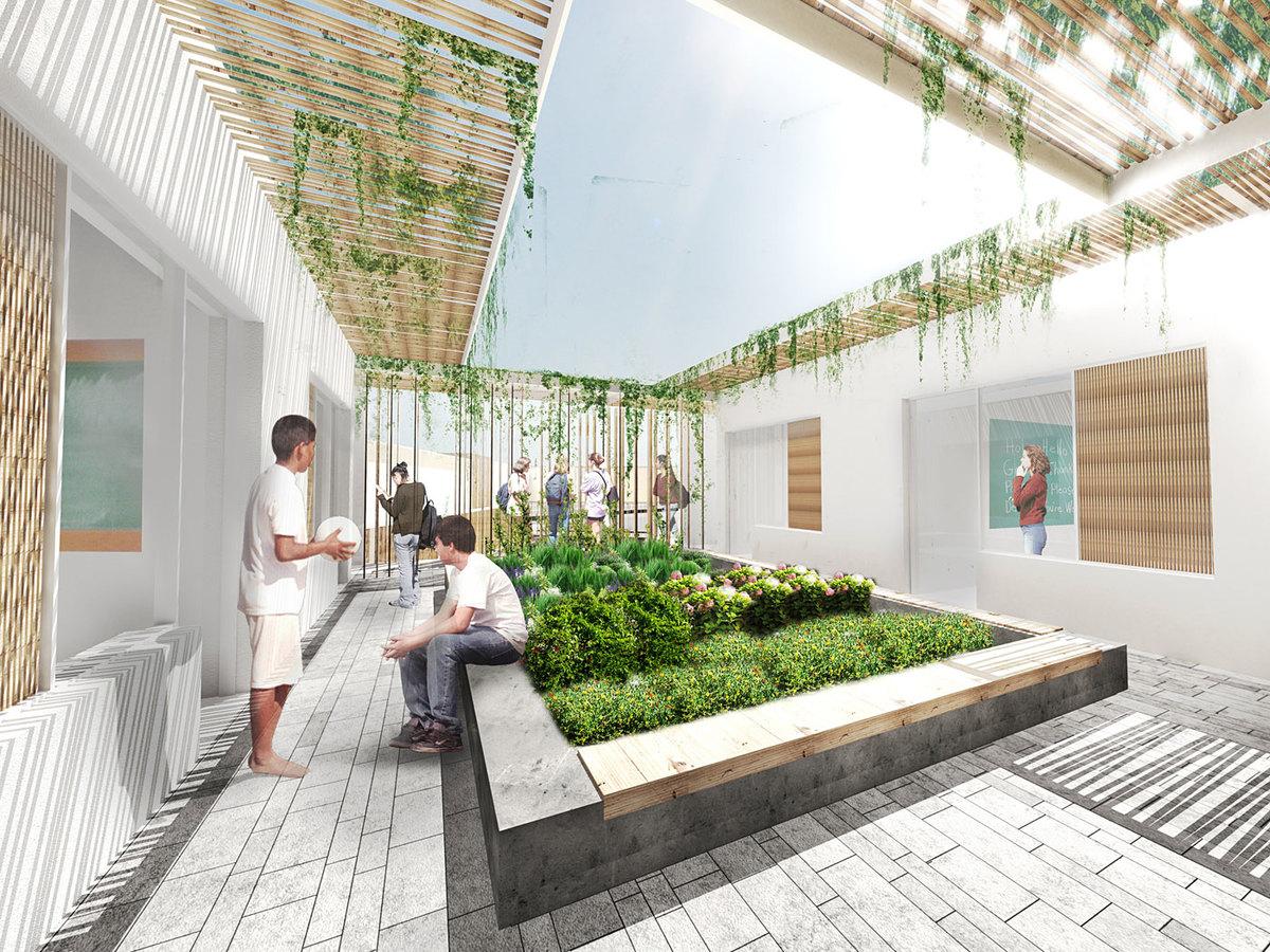 Teaching garden (Image: Atelier3AM)