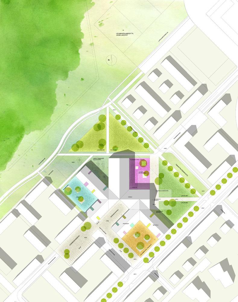 Site plan (Image: Architects Rudanko + Kankkunen)