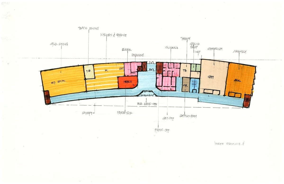 Alternative 2 First Floor Plan