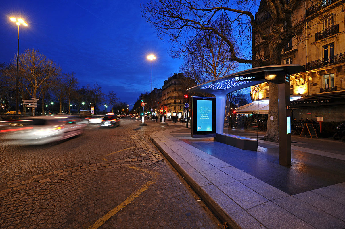 The Bus Shelter Concept by Patrick Jouin for JCDecaux