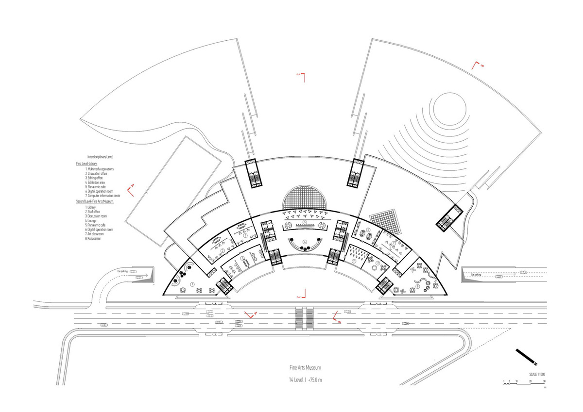 Plan, level 14 (Image: Architecton)