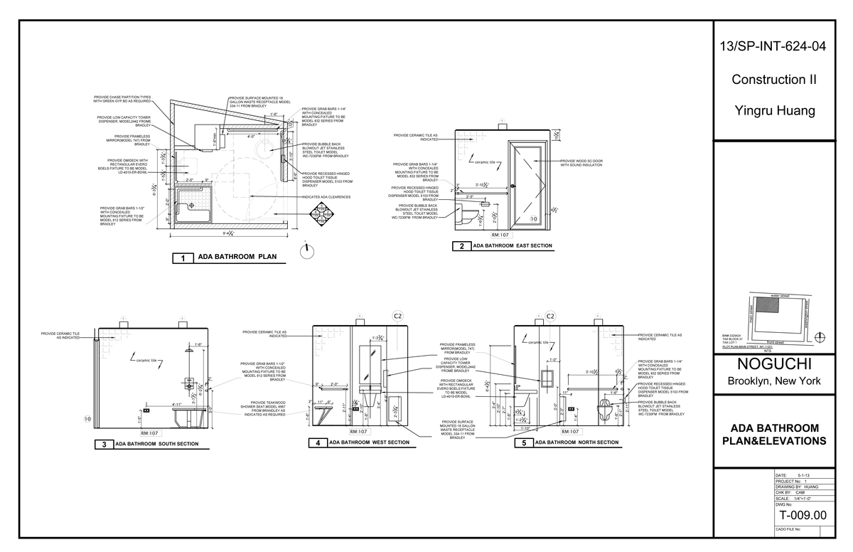 Bathroom section drawing - Affordable Bathroom Section Drawing With Ada Bathroom Plan