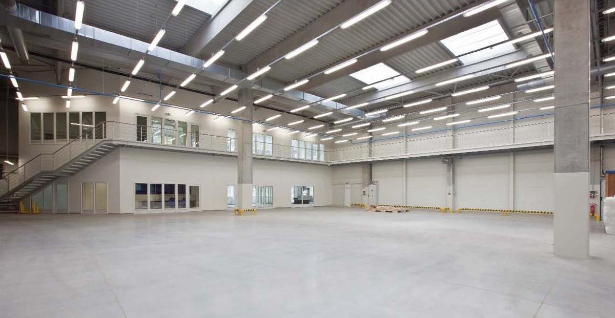 Sejong - interior - production hall