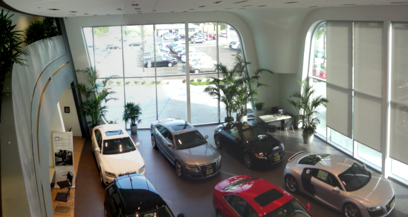 Showroom Floor From Second Floor